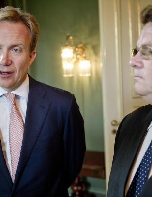 - Stoltenberg m� s�rge for �kt NATO-n�rv�r i �st