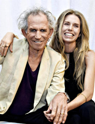 Rockelegenden Keith Richards viser myk side