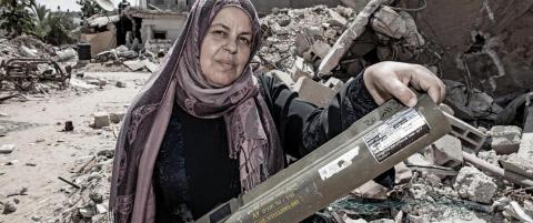 �Norske� rakettgranater brukt av Israel p� Gaza