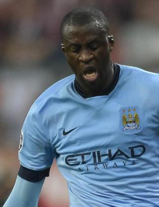 Det Yaya Toure gj�r her setter sinnene i kok hos City-fansen