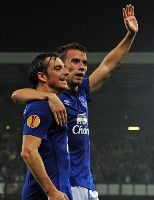 Kruttsterk start p� Europa-eventyret for Everton