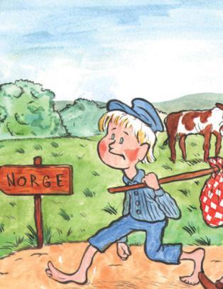 P� �n generasjon har Nordens storebror blitt et land som sender ungdommen sin for � servere nyrike nordmenn
