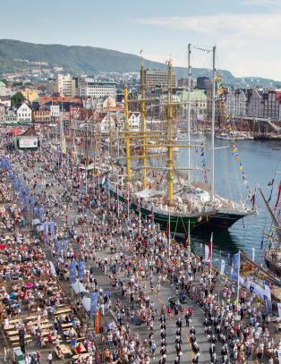 Her vil Bergen ha folkefest under sykkel-VM i 2017