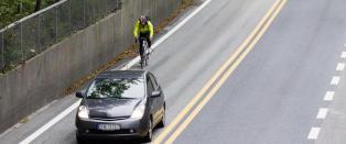 �Syklister hater bilister, og alle hater dem tilbake�