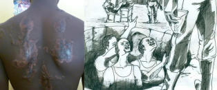 - Det nigerianske milit�ret torturerer sivile og barn