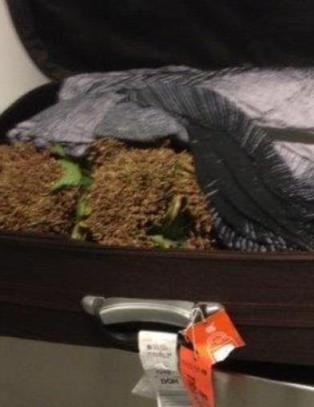 Tok feil koffert p� Gardermoen - fant 23 kilo narkotika