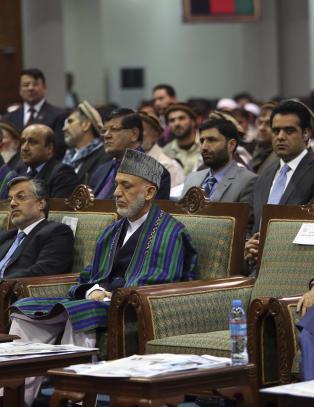 Rivaler enige om � dele makta i Afghanistan