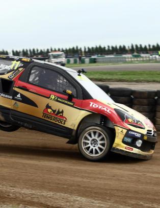 Petter Solberg vant i Tyskland