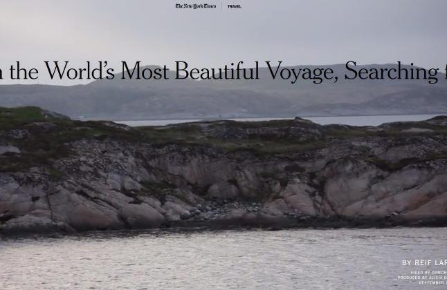 �Norgesporno� i amerikansk storavis: - � studere Norges kyst er som � studere landets metaforiske DNA