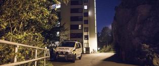 Mann funnet d�d utenfor boligblokk i Stavanger