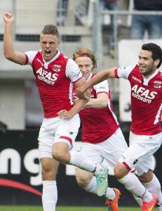 Markus Henriksen ble matchvinner i Nederland
