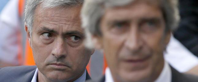 Kalte Vilanova for �penis� - etter City-kampen slo Mourinho til igjen