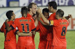 Barcelona med skremmeskudd til La Liga-rivalene