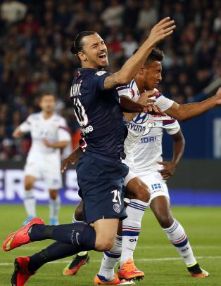 Zlatans PSG taper terreng i Frankrike