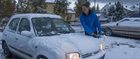 V�knet til sn� og isskraping