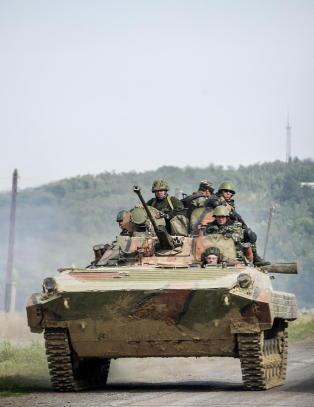 Polen vil selge v�pen til Ukraina