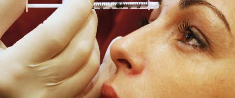 Professor advarer: Deilig, men ogs� dum av Botox