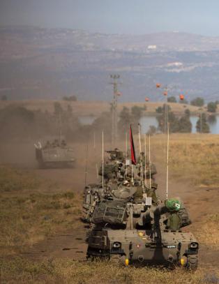 Israel har skutt ned syrisk fly