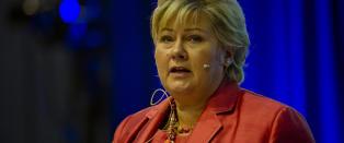 Statsministeren om Syria: - Ikke riktig med v�r involvering