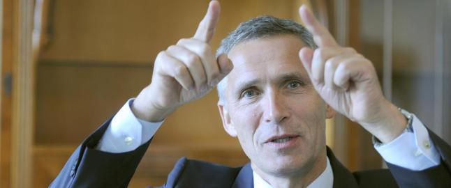 Stoltenberg-serviett fikk Putin til � le, men n� starter alvoret for Jens