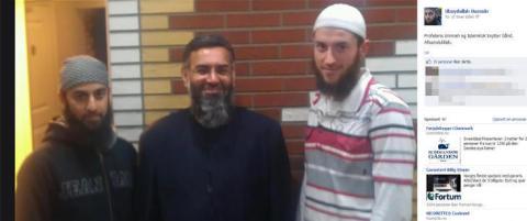 Her st�r predikanten med norske islamister. N� er han tatt for terror