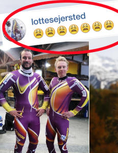 Slik reagerte Lotte da Aksel poserte i ny norsk dress