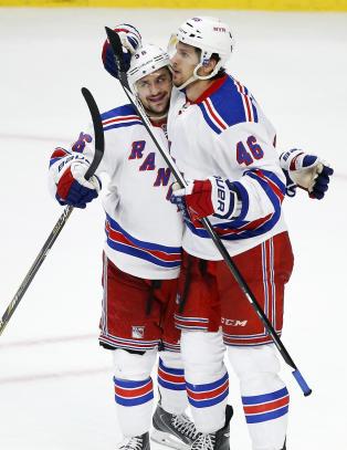 Rangers slanket NHL-stallen