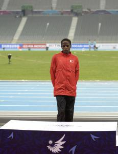 Ruth (17) forlot medaljeseremonien i t�rer. N� f�r hun gullet likevel
