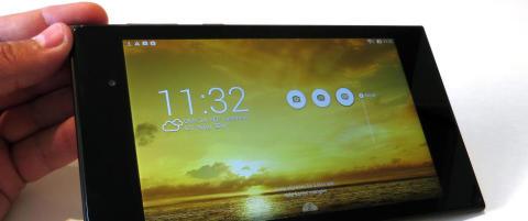 Nettbrett med flott skjerm og god bygge-kvalitet