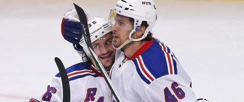 Zuccarello og Rangers viser form f�r NHL-starten