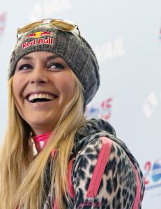 Lindsey Vonn ambassad�r for ungdoms-OL i Lillehammer