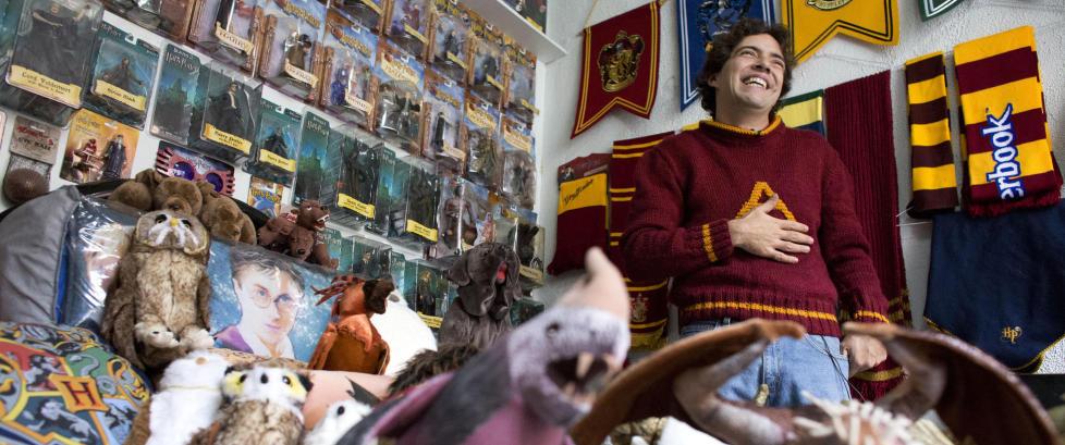 Advokat (37) har verdens st�rste Harry Potter-samling
