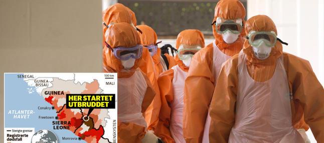 Kampen mot ebola-viruset: Jobber p� spreng for � hindre spredning