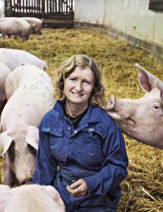 - Mange sp�r meg om jeg synes det er trist � sende grisene til slakt. Nei, det gj�r jeg ikke