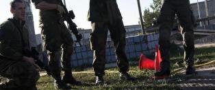 Her �ver norske soldater i Putins nabolag