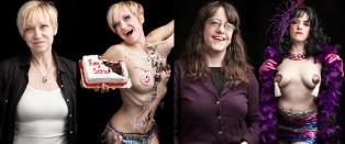 Fotoprosjekt av virkelighetens burlesk-dansere vekker oppsikt
