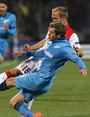 Zenit og Monaco endte m�ll�st