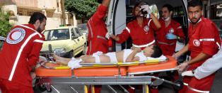 - Selvmordsbomber drepte 41 barn i Homs