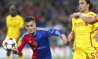 Basel i ledelsen etter Liverpool-rot