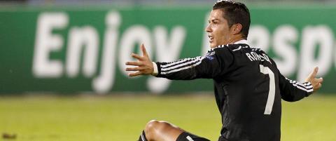 Ronaldos utrolige kveld: Bommet p� straffe, scoret og ble skadet