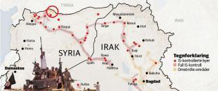 Strategisk grenseby for fall, Tyrkia vurderer � sende inn styrker