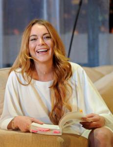 - Lindsay Lohan glemte teksten i scenedebuten
