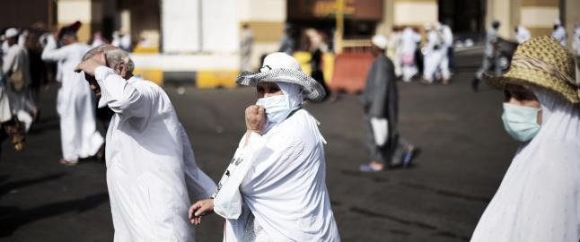 To millioner muslimer p� pilegrimsferd, frykter ebola-smitte