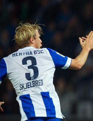 Skjelbred og Hertha tok tre viktige poeng