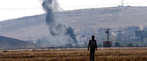 Harde IS-kamper ved grensen til Tyrkia