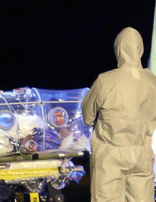Sykepleier behandlet ebolasyk - ble selv smittet