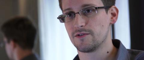 Ber om fredspris til Edward Snowden