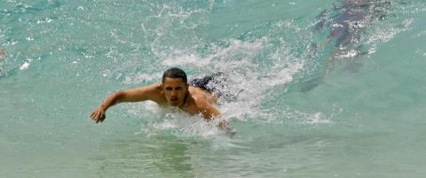 Obama f�r ikke strand oppkalt etter seg likevel