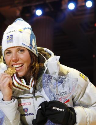 Kalla vraker gulldistansen i Falun-VM