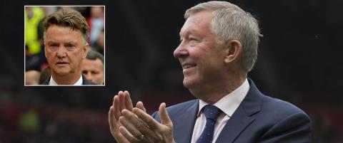 Ferguson hyller Van Gaal: - Han gjorde helt rett i � bygge sitt eget lag